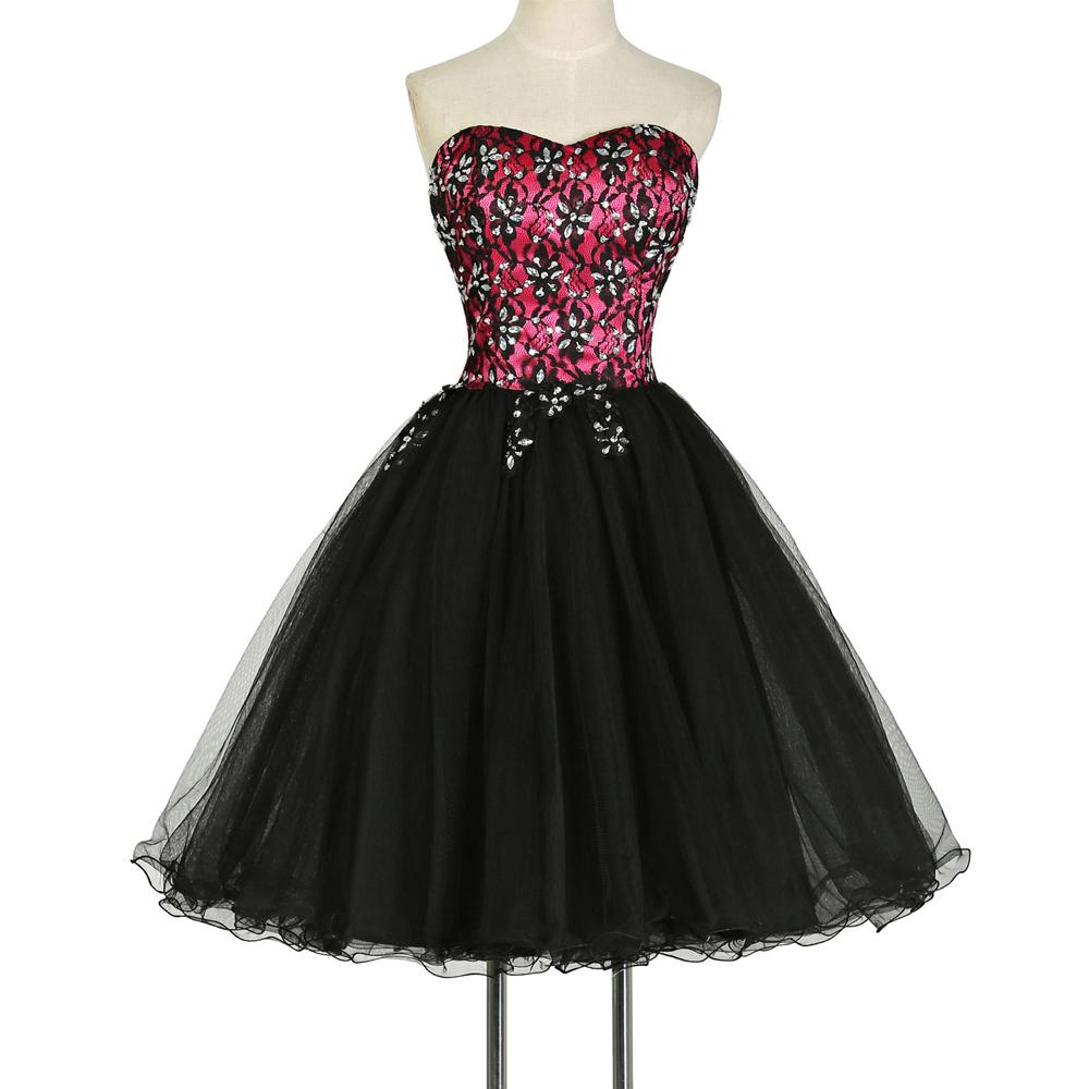 Buy Hot Sale Cocktail Dresses Grace Karin Black/Blue/Red/White/Pink ...
