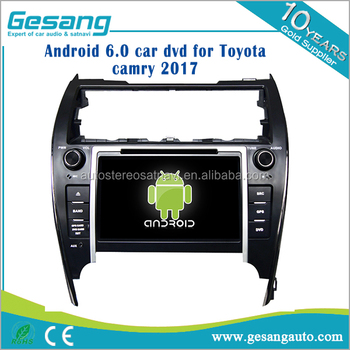 Hd Android 6 0 Car Dvd Player And Radio For Toyota Camry 2017 With Gps Navigation