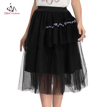 Black Cotton Polyester Summer Skirt Fashion Plus Size Chiffon Flare Gothic  Long Layered Skirts - Buy Layered Skirts,Long Layered Skirts,Gothic Long ...