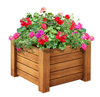 Arlau garden arts planter pots,wood planter box/pot,garden accessories