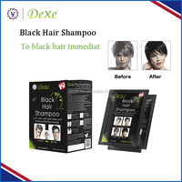Factory directly provide 100% pure henna organic dexe black hair shampoo shampoo to anti white hair
