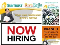 Hiring 50 Realestate Agents with Experience Property Specialist for I-net Branch Suntrust Properties Inc