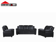 Sofa set living 룸 <span class=keywords><strong>가구</strong></span> 현대 3 + 2 seater sofa set/3 + 2 + 1 seater 소파 set 현대 black leather