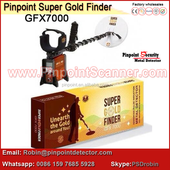 GFX 7000 Chinese manufactuer to dubai market of Super Gold Finder gold detector for Gold Mine