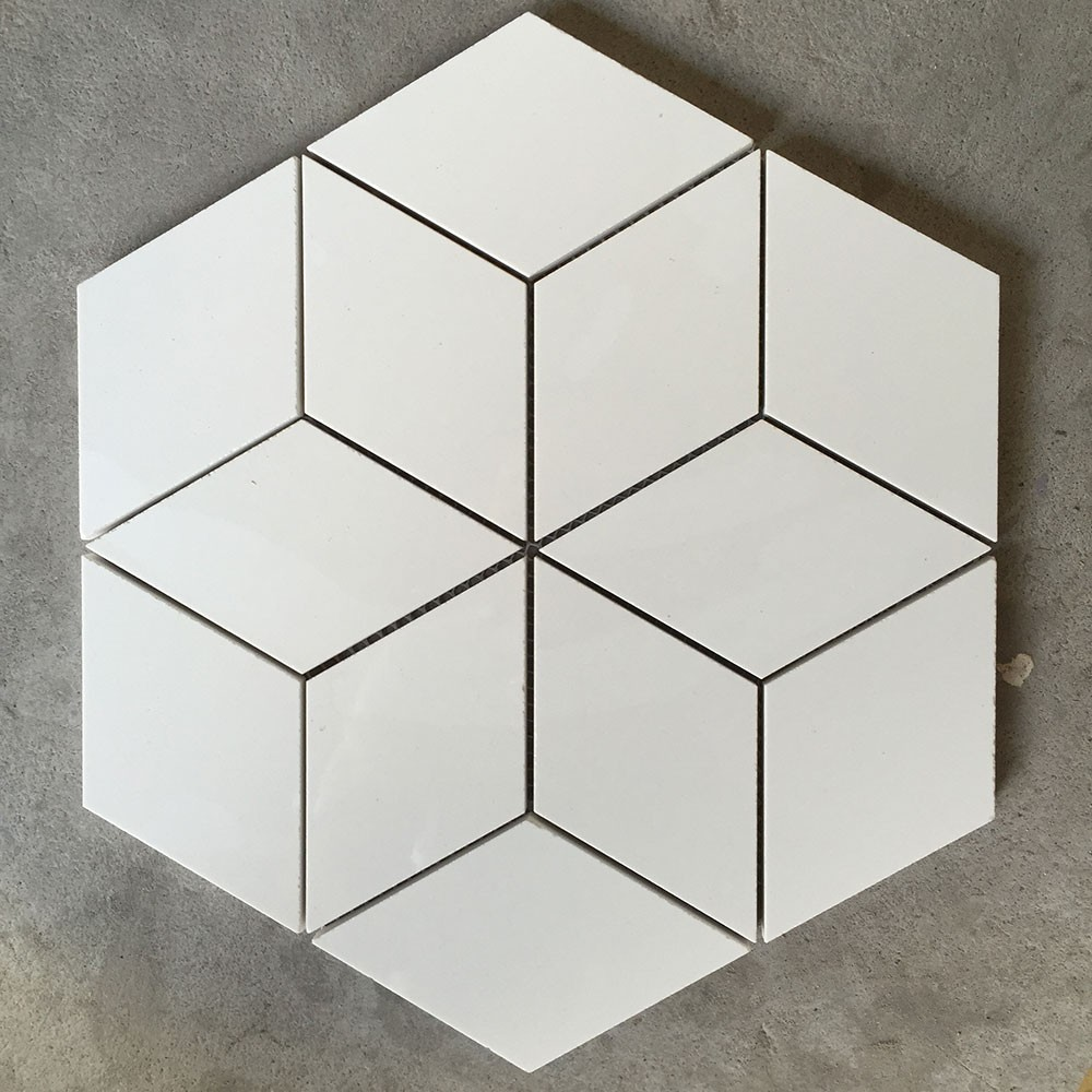 Raute kombination fliesen hexagon fliesen mit blumenmuster mosaik produkt id 60510636985 german - Fliesen hexagon ...