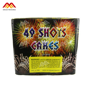 Competitive Cheap 49 Shots Cake Fireworks Birthday fireworks
