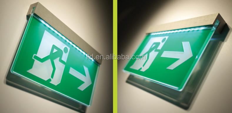 Acrylic Led Emergency Escape Sign,Acrylic Led Emergency Exit Sign ...
