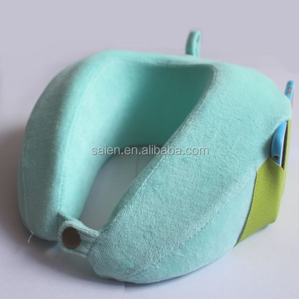 Patent fashion design traveling airplane neck rest pillow