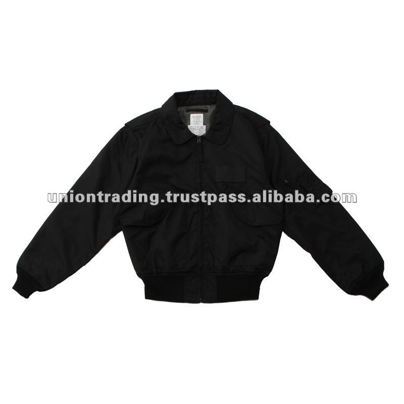 Di alta qualità CWU36P Flight Jacket Colore Nero made in japan