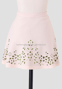 ladies Laser Cut office umbrella skirt a-line