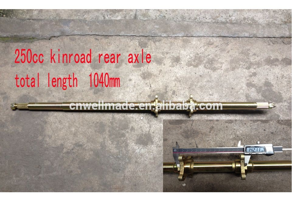 Kinroad 250cc Rear Axle Go Kart Chinese Buggies Parts
