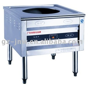 Single-Hole elecrical Steam cooker with no fan LC-DZL(DD) for restaurant kitchen equipment passed ISO9001