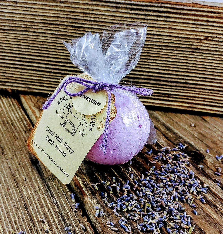 Lavender Goat Milk Bath Fizzy Bomb 3.5 ounce