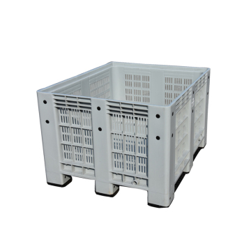 Large Industrial Plastic Container Pallet Bin Shipping Box