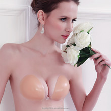 Hot Sexy Invisible Bra Self-Adhesive Strapless Silicone Breast Form Bra Size a b c Free Shipping Wedding For Women