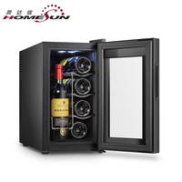 BCW-25A Mini Thermoelectric Wine Cellar, Thermoelectric Wine Cooler Cabinet
