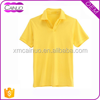 Polo shirts no button on front custom plain clothing buy for No button polo shirts