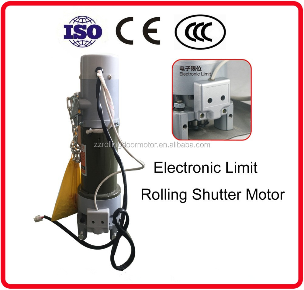 electric limit switch AC lifting 800kg window roller shutter motor