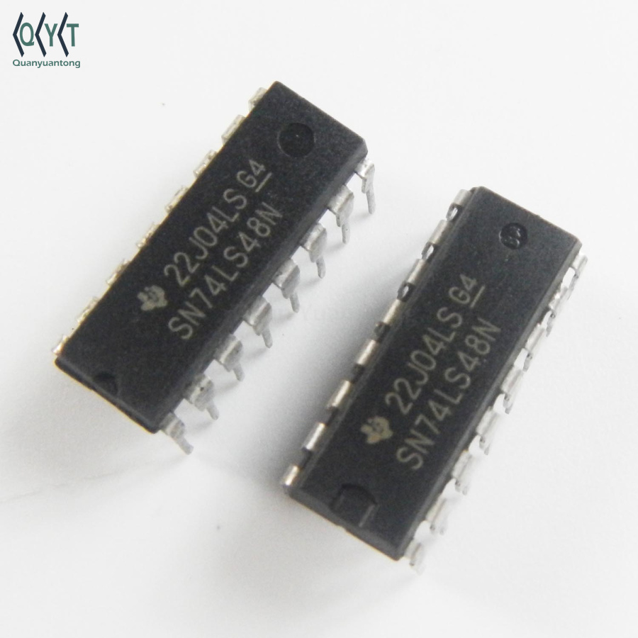 74LS48 INTEGRATED CIRCUIT DIP-16 SN74LS48N