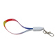 Multifunction ABS Polyester Braided USB Phone Cable Lanyard I8 IPX USB Charger Data Cable