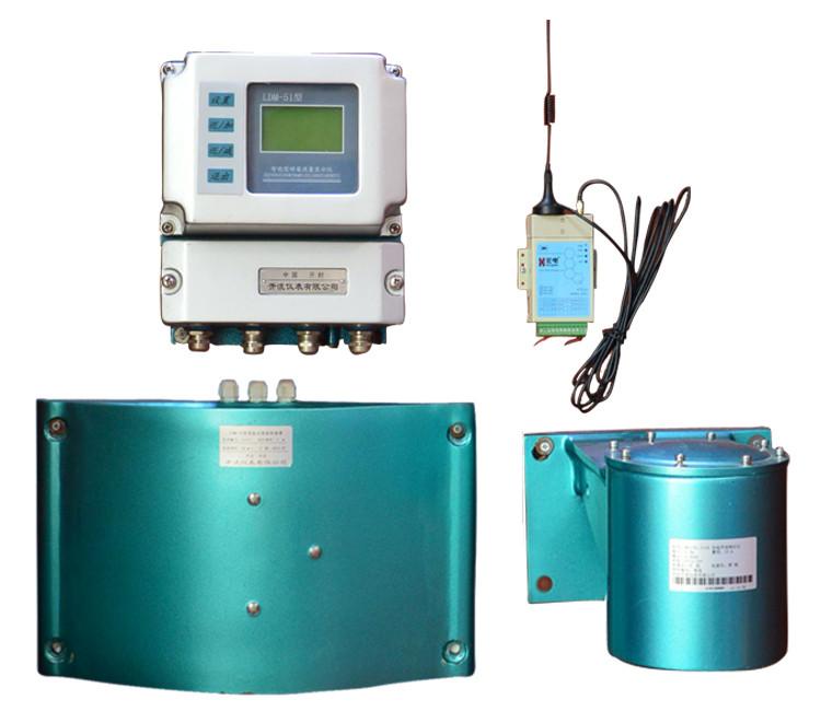 Water Flow Velocity Meter : Intelligent drainage channel flowmeter open buy