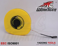 10m,20m,30m,50m long Fiberglass( PVC blade) measuring tape