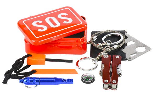 2016 hot selling sos tin box/emergency survival kit ce fda approved