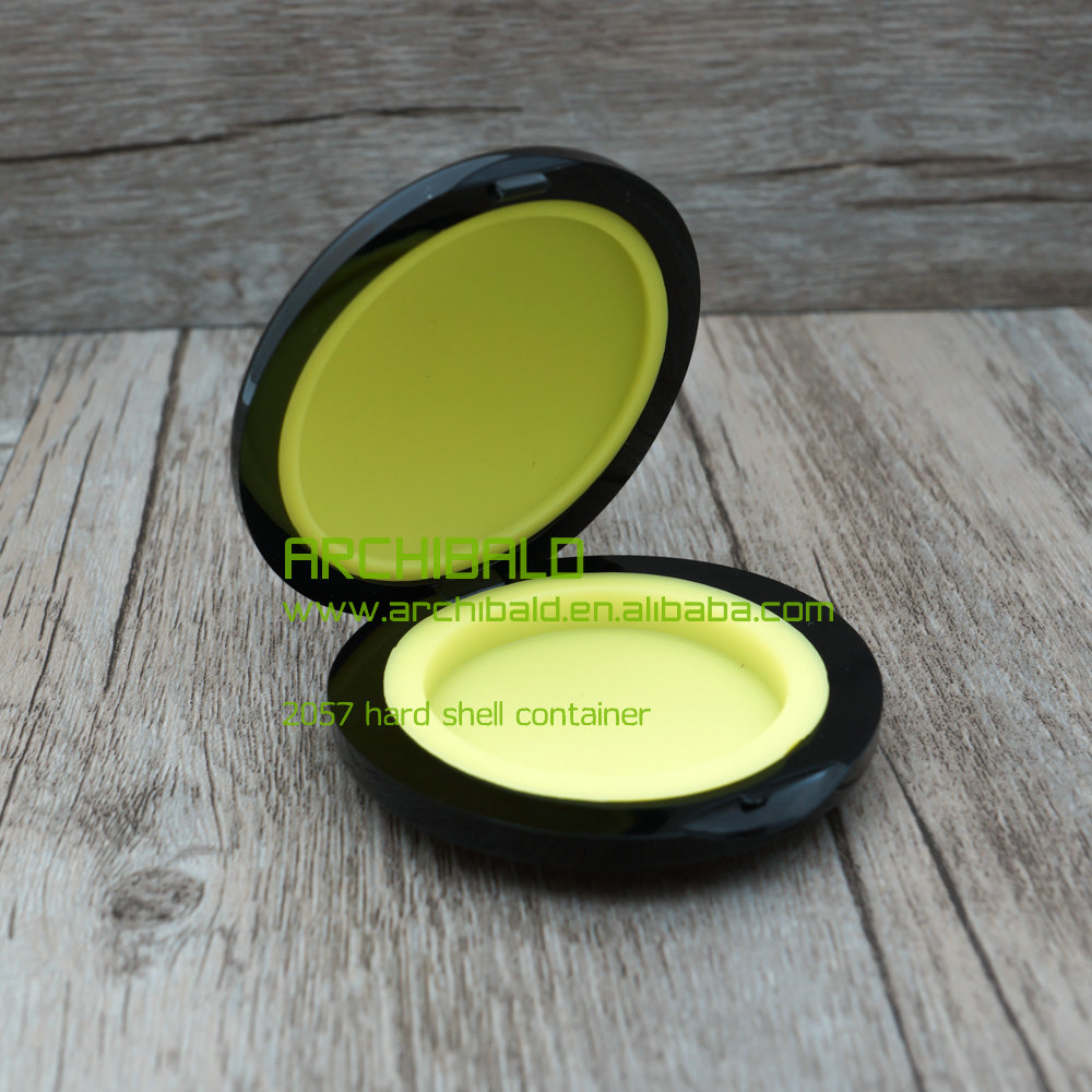 non stick shatter concentrate platinum silicone container plastic outside with silicone insert wax dab 6ml container