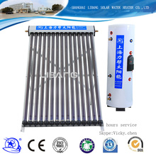 15 tube -30 tube 1800mm Flat Type Vacuum Tube Heat Pipe Solar Collector