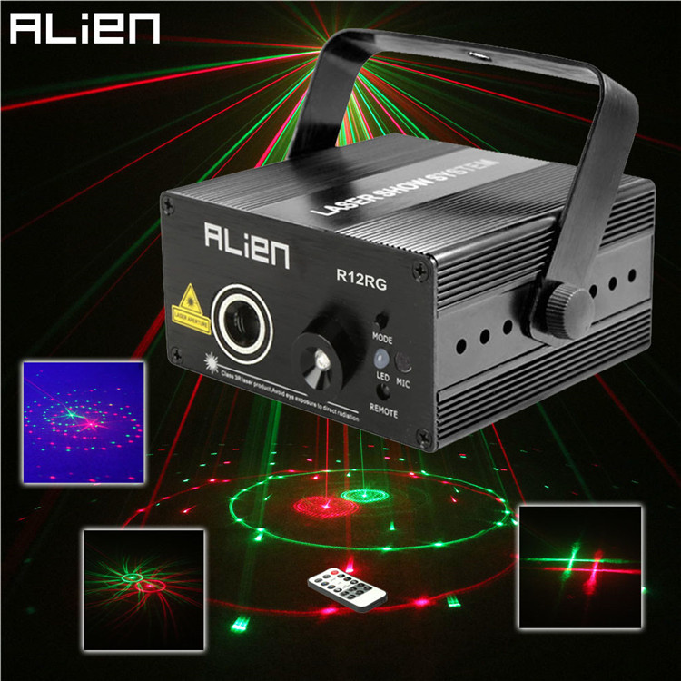 9W 120MW RG Led Mini Stage Laser Light