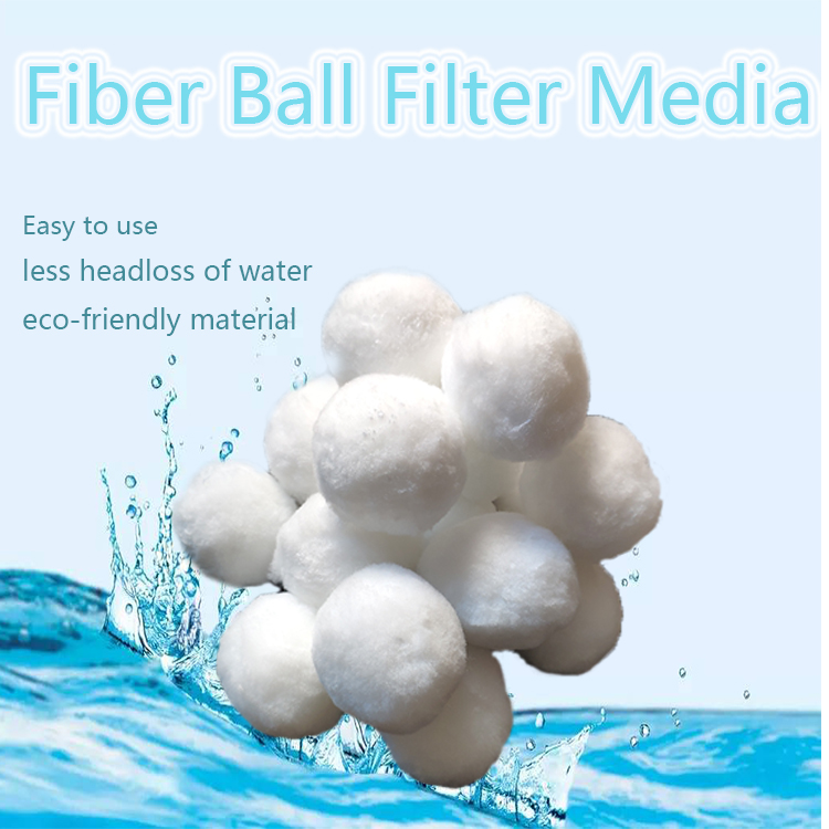 Aquarium Aquarium Fiber Bal Filter Media