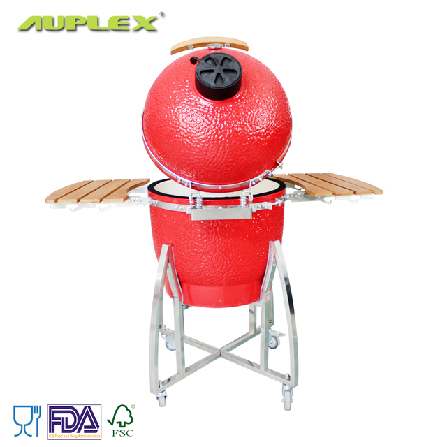 Auplex High-quality Backyard Cooking 21 Inches Kamado Big Joe
