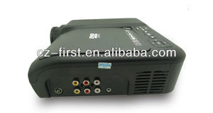 Newest High Quality DV-60C video battery powered portable projector for entertainment