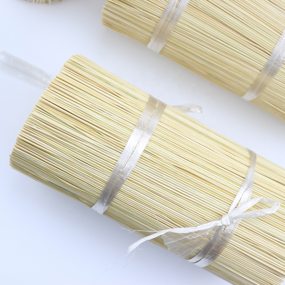 Dry straight 8 inch incense bamboo sticks for agarbatti