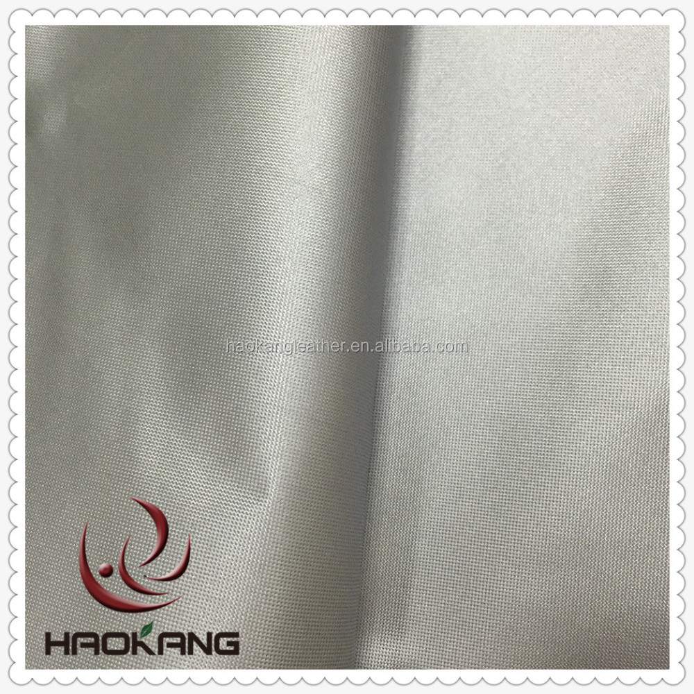 170t 190t 210t Silver coated backing car cover fabric
