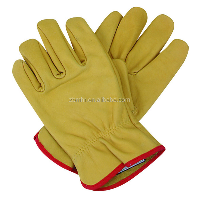 Brand MHR grey welding gloves. reinforced pro biker gloves