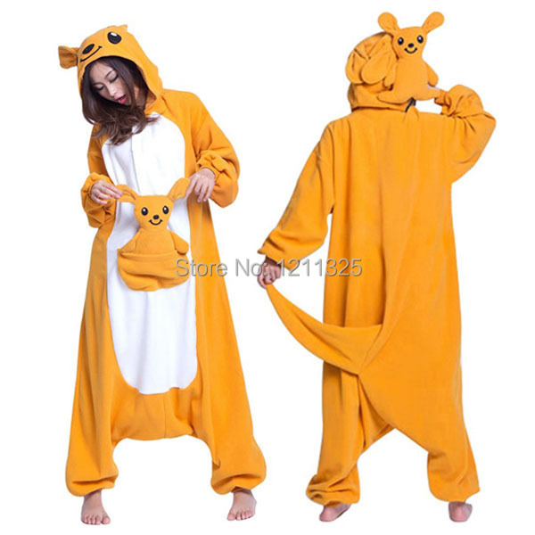 Get Quotations · Onesie New Adult Onesie Unisex pop Pajamas Cosplay Cute  Kangaroo Cartoon Animal Onesie Pyjamas For Adults 80f0512fd