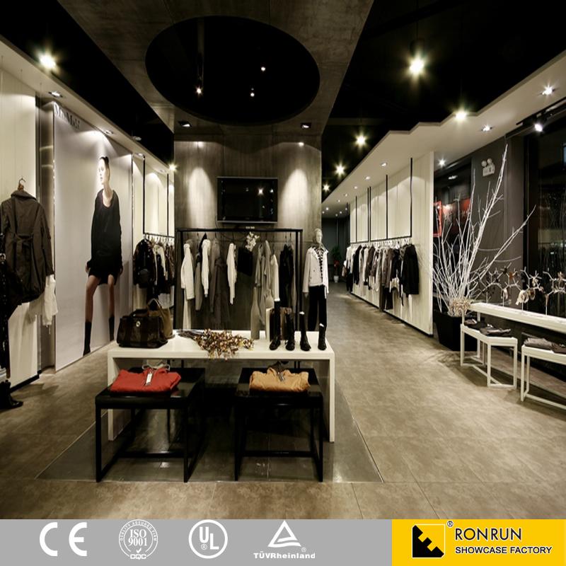 Oem odm fashion garment retail interior design clothes for Best retail store design