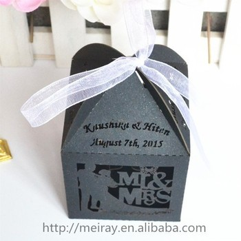 Whole Wedding Favors Bride And Groom S Laser Cut Favor Box