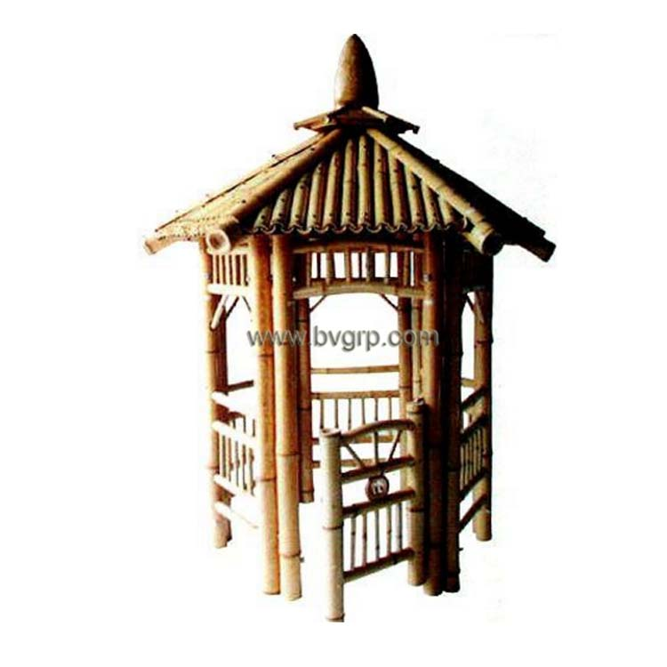 High Quality Luxury Leisure Garden Hot Sale Natural Bamboo Sale Outdoor Pavilion