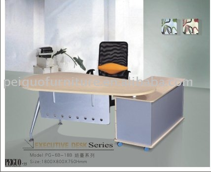 PG-6B-18B simple office furniture managerial office desk