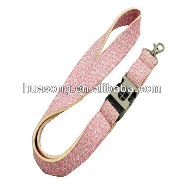 Heat transfer printing lanyard,with neoprene material,neoprene lanyard with high qunlity,(M-116)