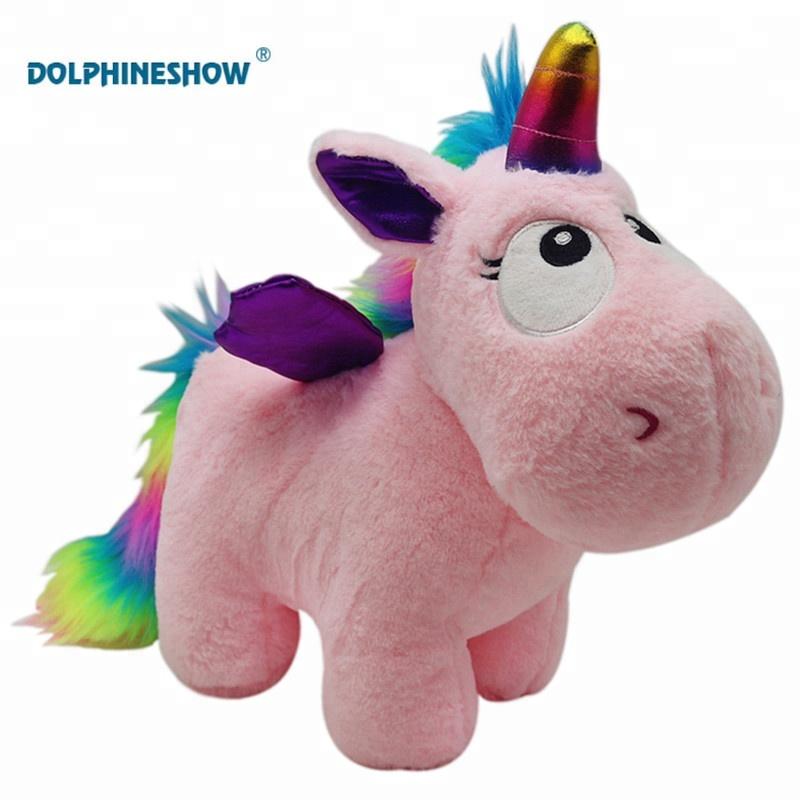 Stuffed Animal New Baby Toy Super Soft Plush Lying Unicorn With