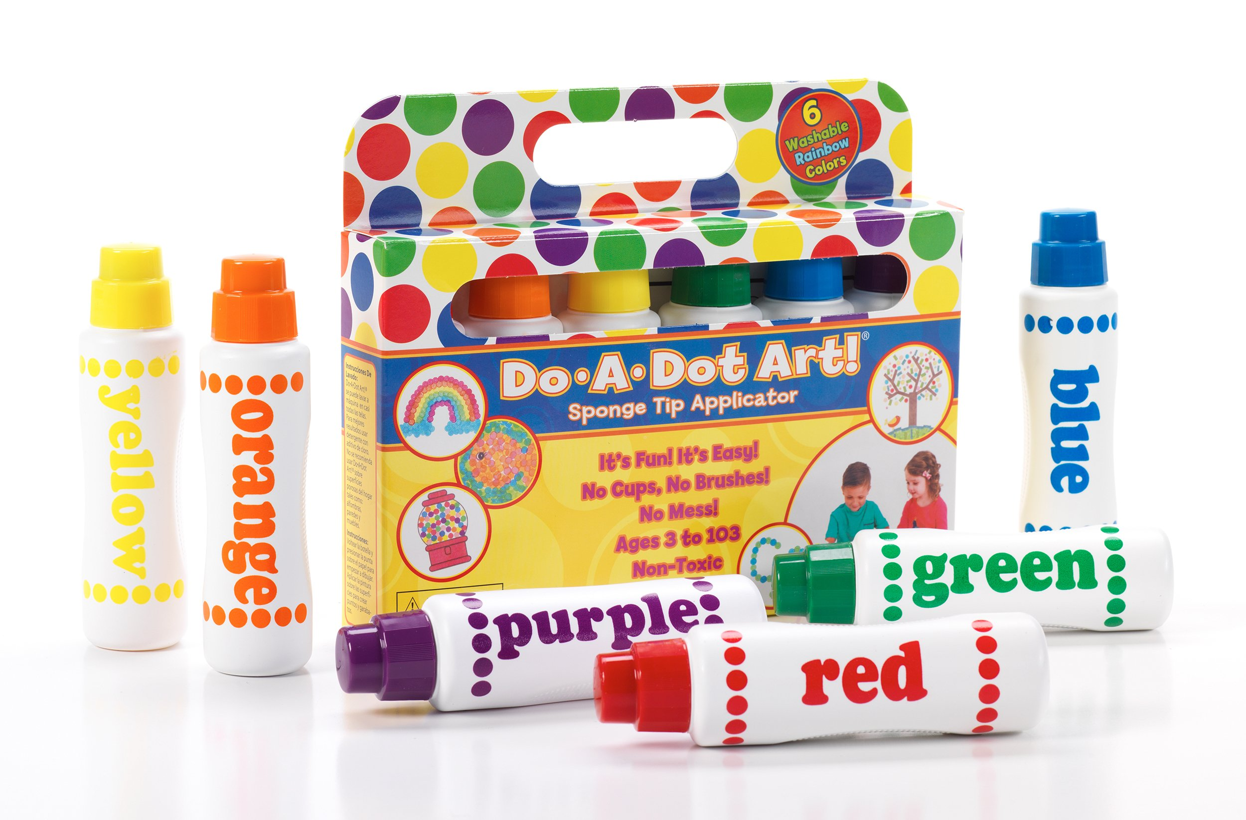 Buy Washable Do A Dot Markers Set Of 36 Rainbow Paint Arts And