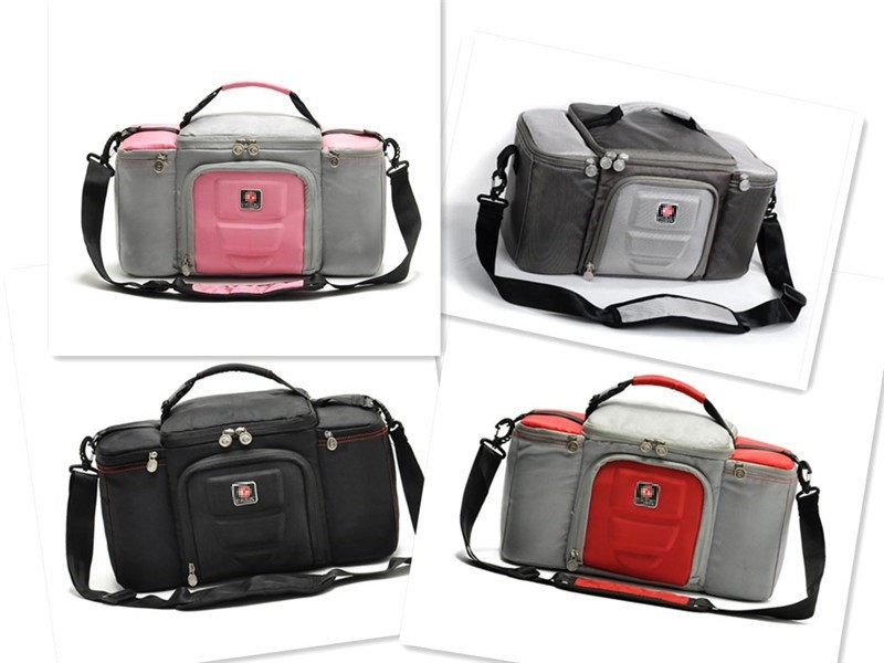 Custom Wholesale Sport Cotton Gym Bag Shoulder Strap 6 Pack Fitness Cooler Meal Lunch