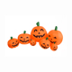 7.5 Feet Long Airflow Autumn Fall Harvest Flashing Patch Decoration Inflatable Halloween Pumpkins