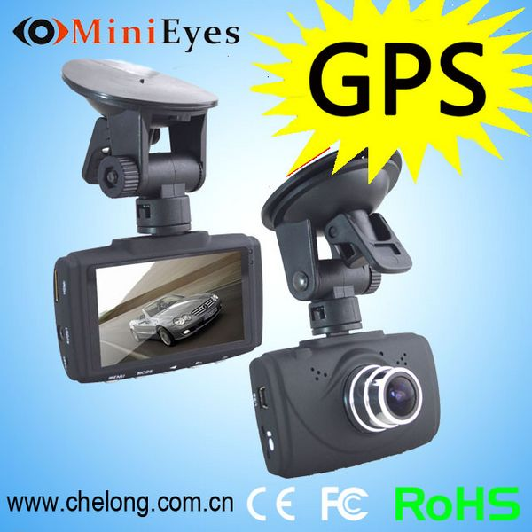 Effectively collect evidence for traffic accident GPS G-sensor hd 720p dash cam