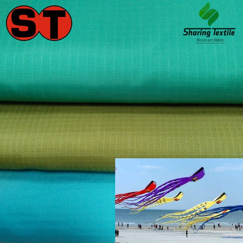 High Quality Nylon Plaid Waterproof Kite Upholstery Fabric