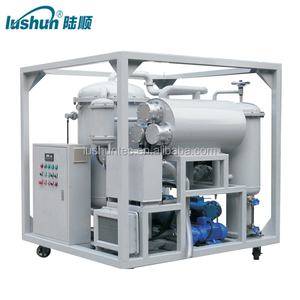 CE Multi-Function Lubricant Oil Dehydration Plant/lube oil treatment equipment/hydraulic oil regeneration