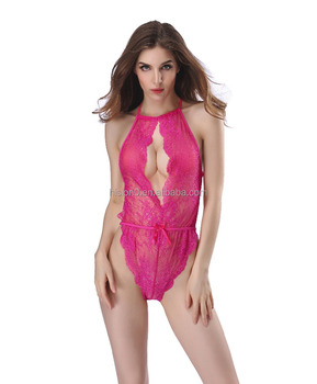 Very Sexy Hot Lace Transparent Slimming Leotard Corset Extreme Nightwear  Lingerie f37e0fc54